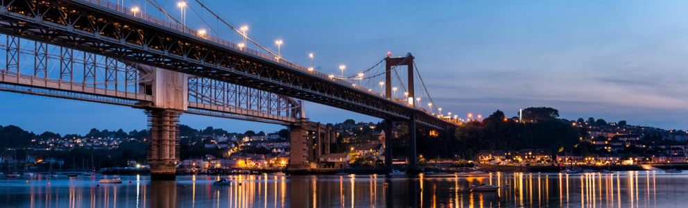 Image portrays Brunel Bridge in Plymouth.